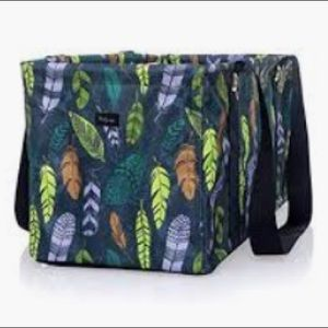 Thirty-one Medium Utility Tote Falling Feathers